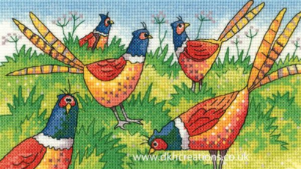 Fair Game Cross Stitch Kit